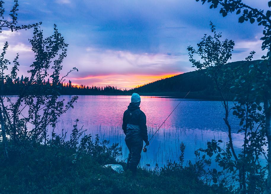 Ett fiske i världsklass